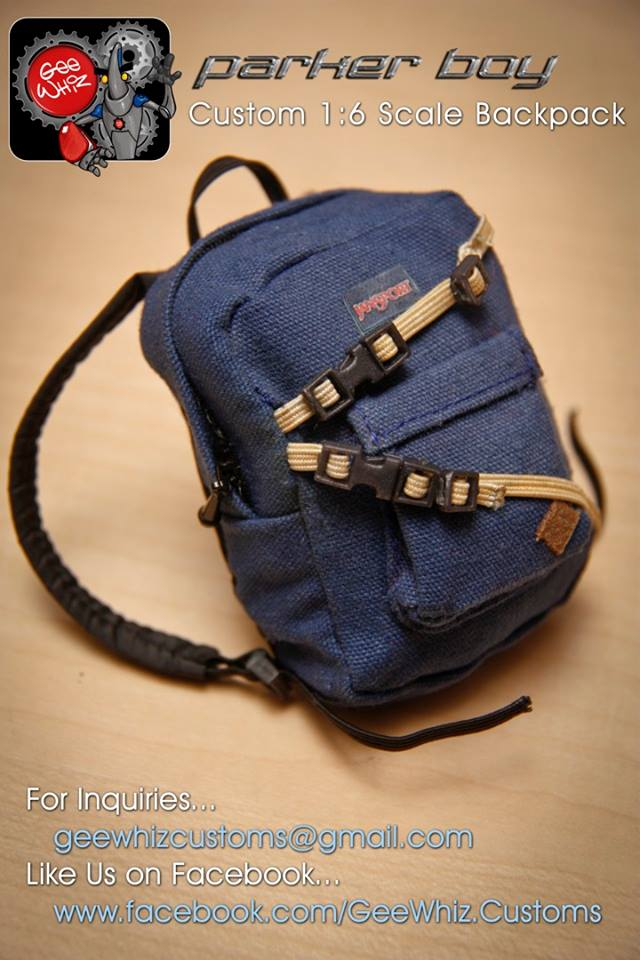 Custom Parker Boy Backpack01