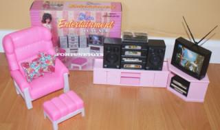 GLORIA Doll HOUSE Furniture